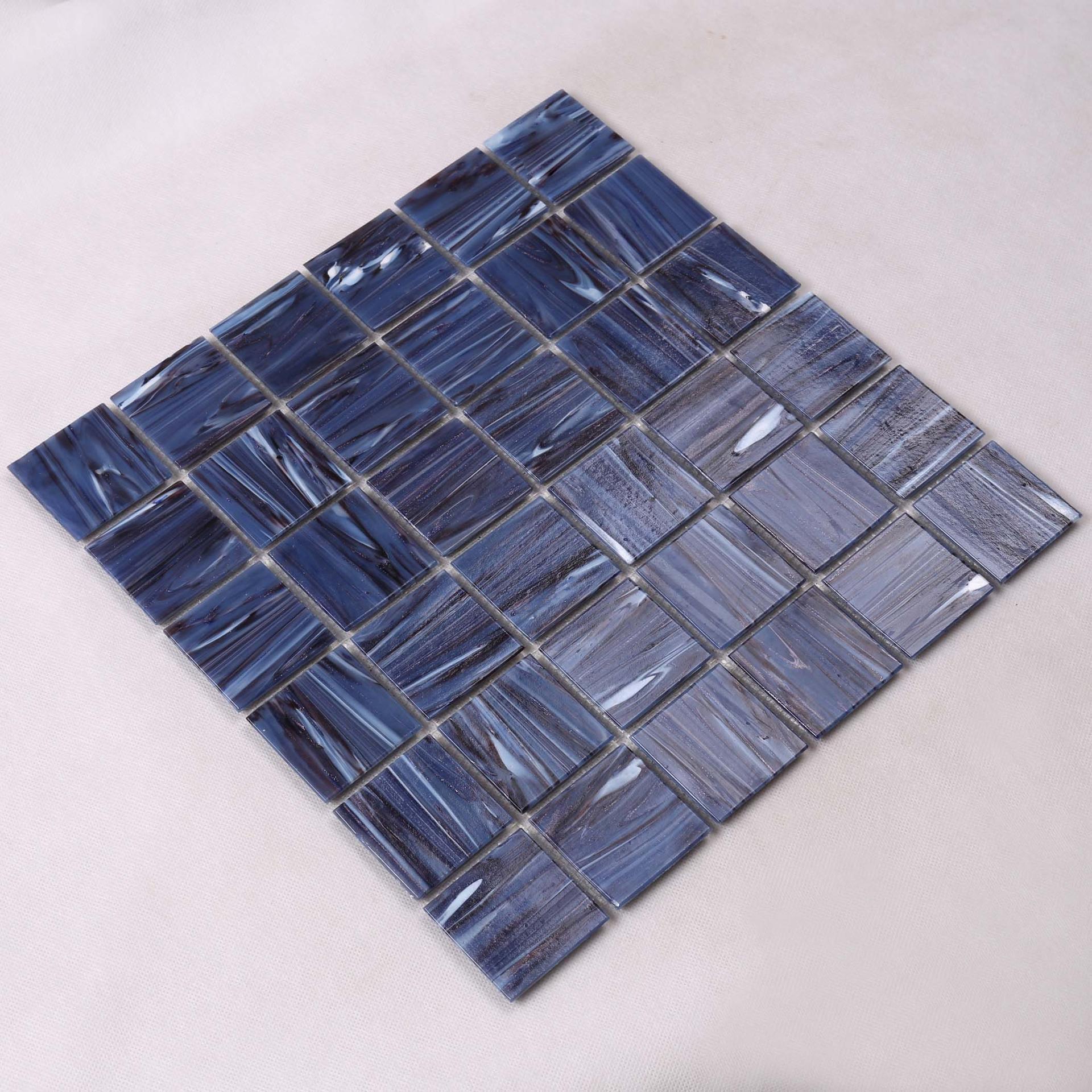 Golden Line Antislip Purple Swimming Pool Tiles NE766