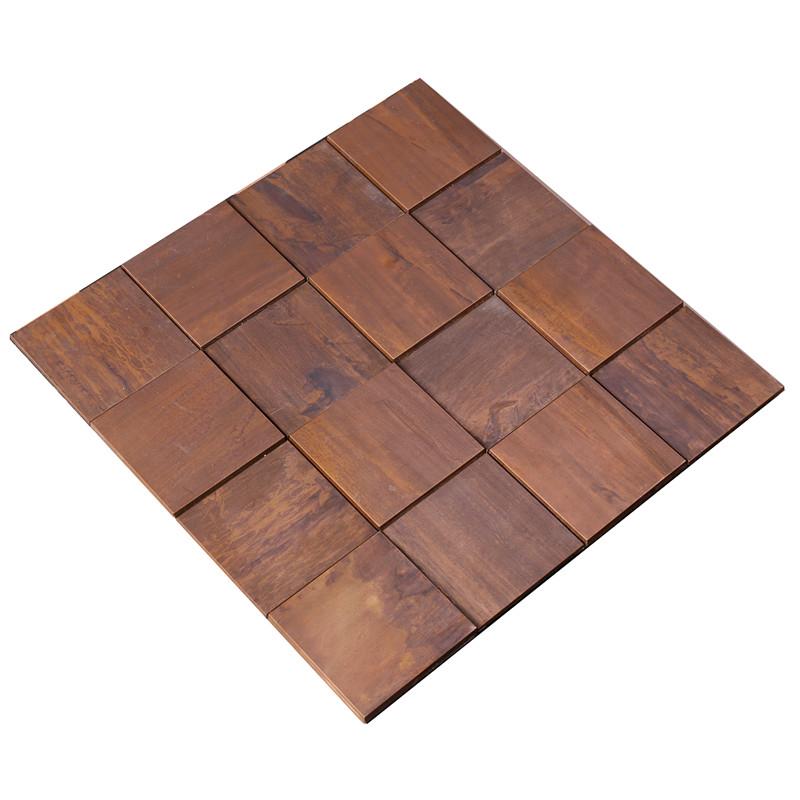 product-Antique Bronze Wall Metal Copper Mosaic Art Tile-Heng Xing-img