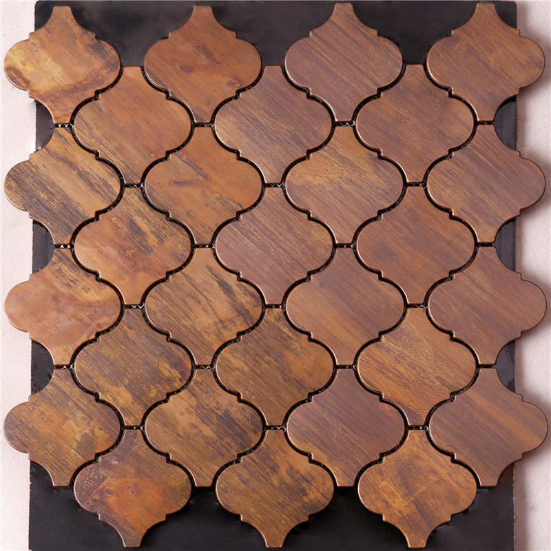 Antique Copper Lantern Mosaic Tile for Backsplash