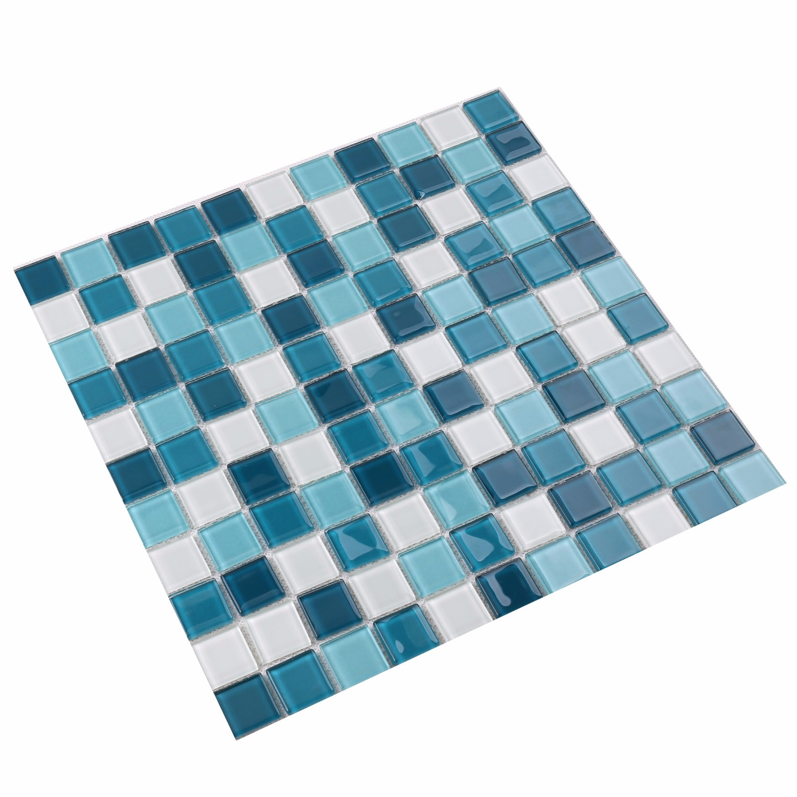 Heng Xing light blue tile mosaic personalized for spa-3