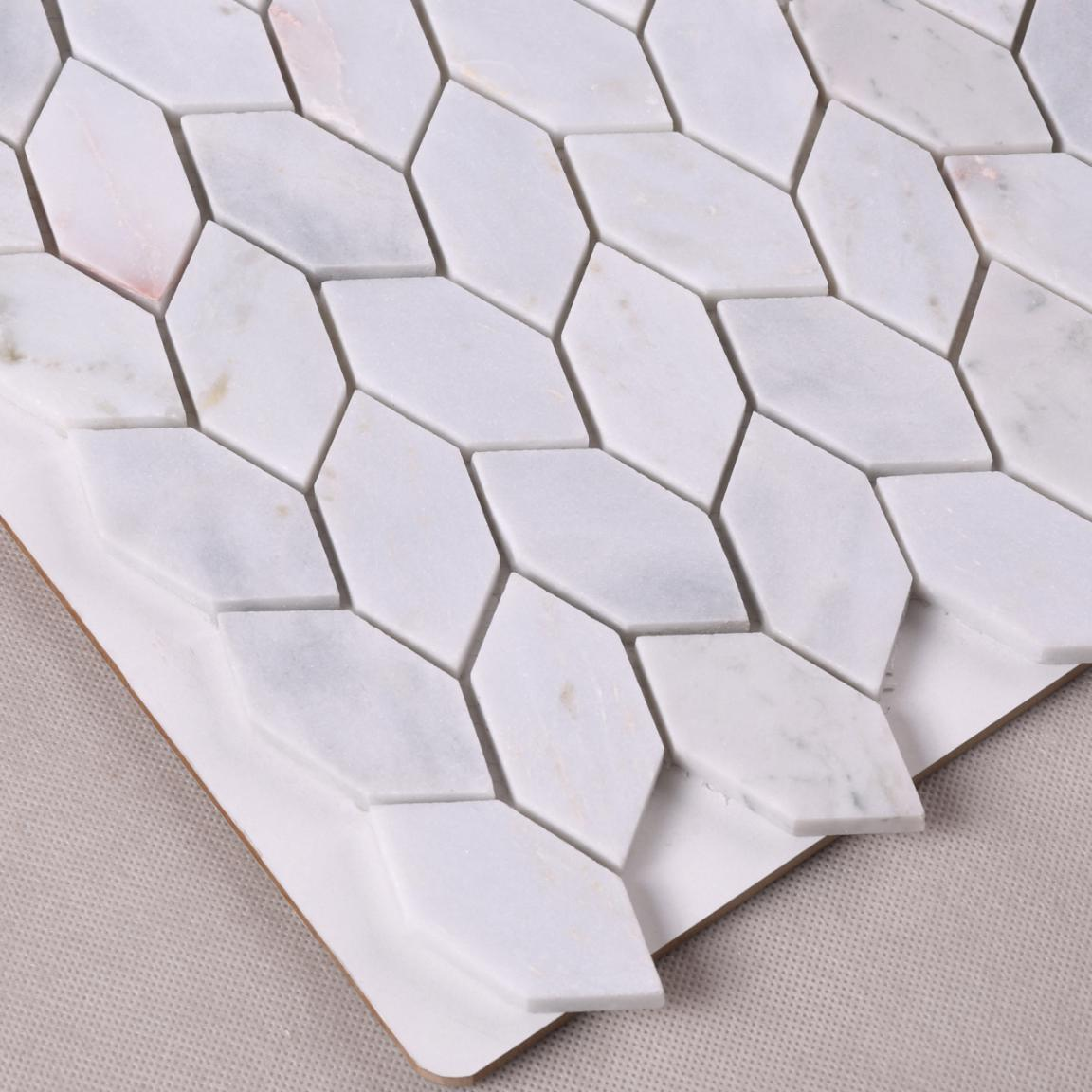 HSC97 Best Price Leaf Shape Natural Stone Decorative Mosaic