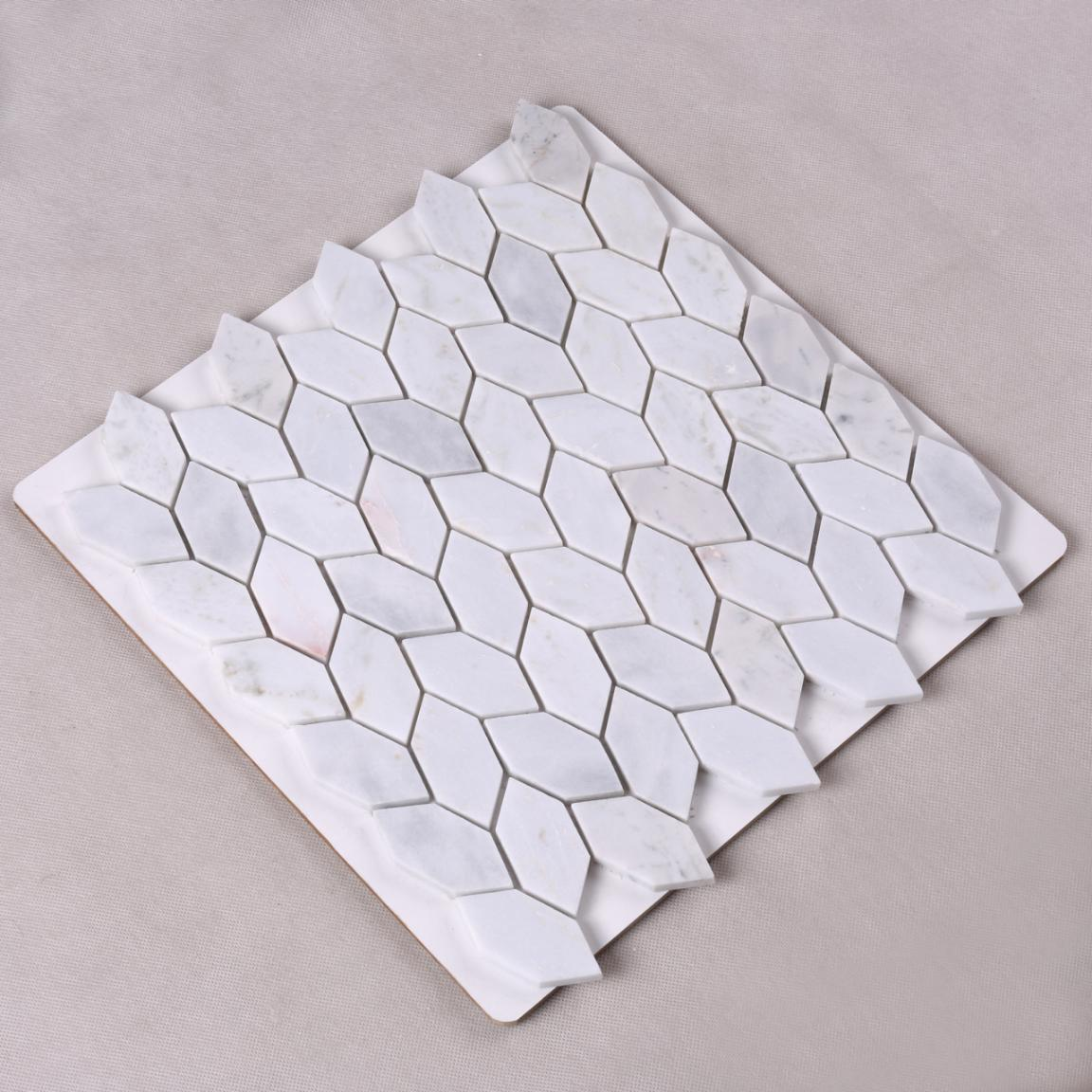 product-HSC97 Best Price Leaf Shape Natural Stone Decorative Mosaic-Heng Xing-img