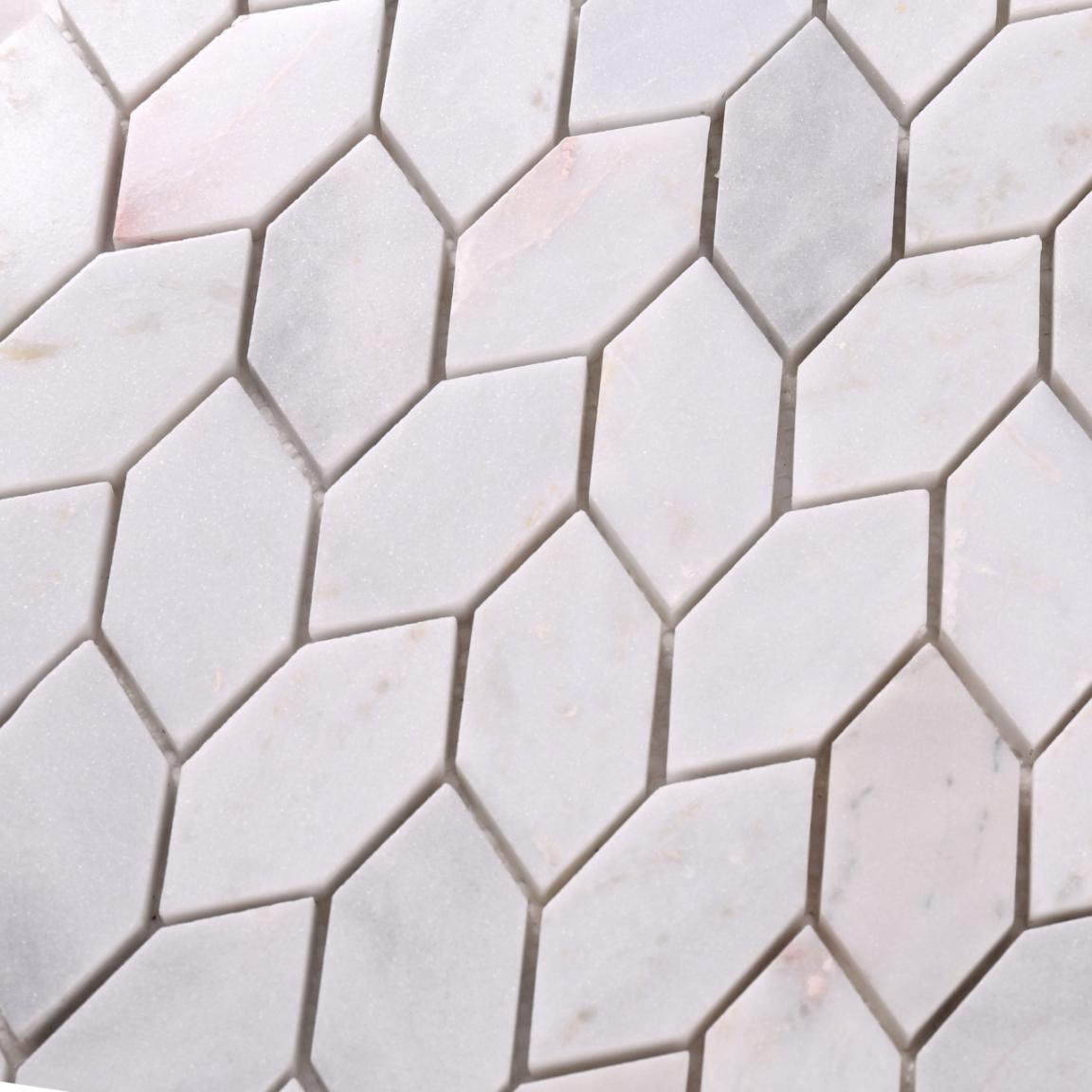 product-leaf shape natural stone mosaicstone decorative mosaic-Heng Xing-img