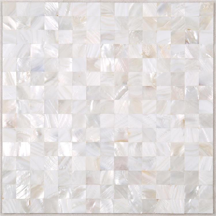 Natural Seashell White Mother Of Pearl Tile BK06