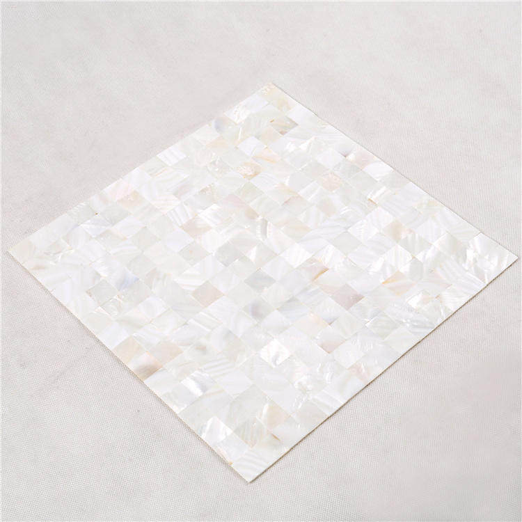 Natural Seashell White Mother Of Pearl Tile BK06