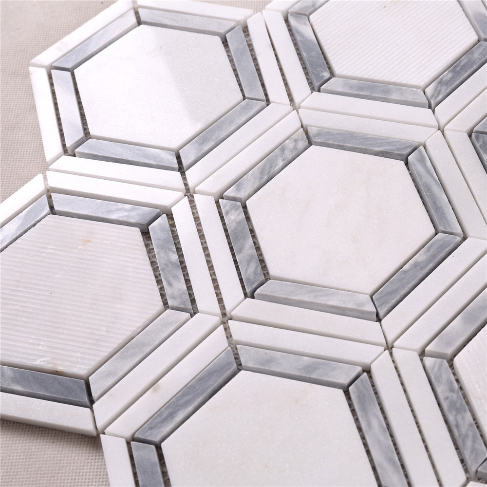 reliable crystal glass mosaic tiles suppliers white series for villa-Glass Mosaic Tile- Stone Mosaic Tile- Pool Mosaic Tiles-Heng Xing