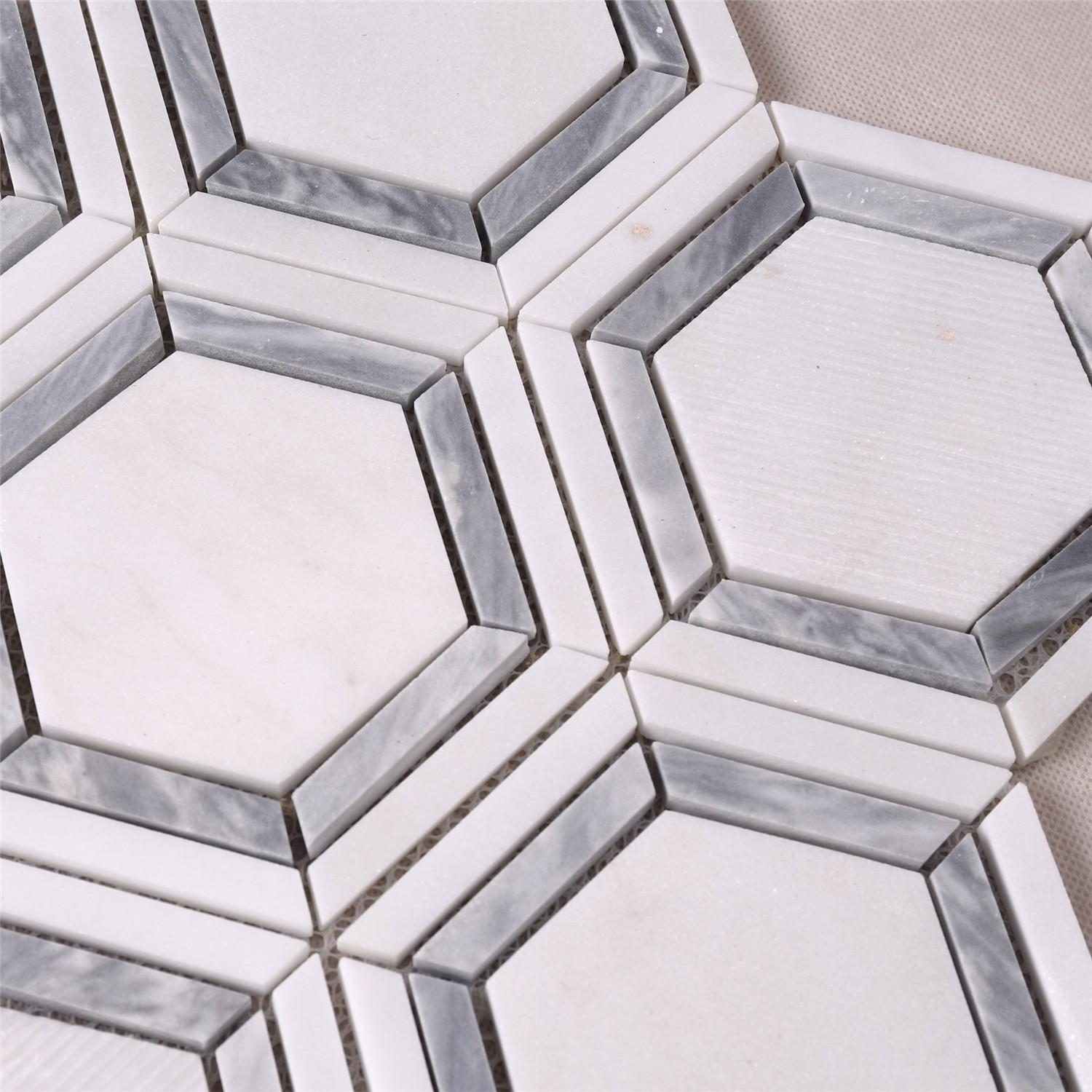 reliable crystal glass mosaic tiles suppliers white series for villa-4