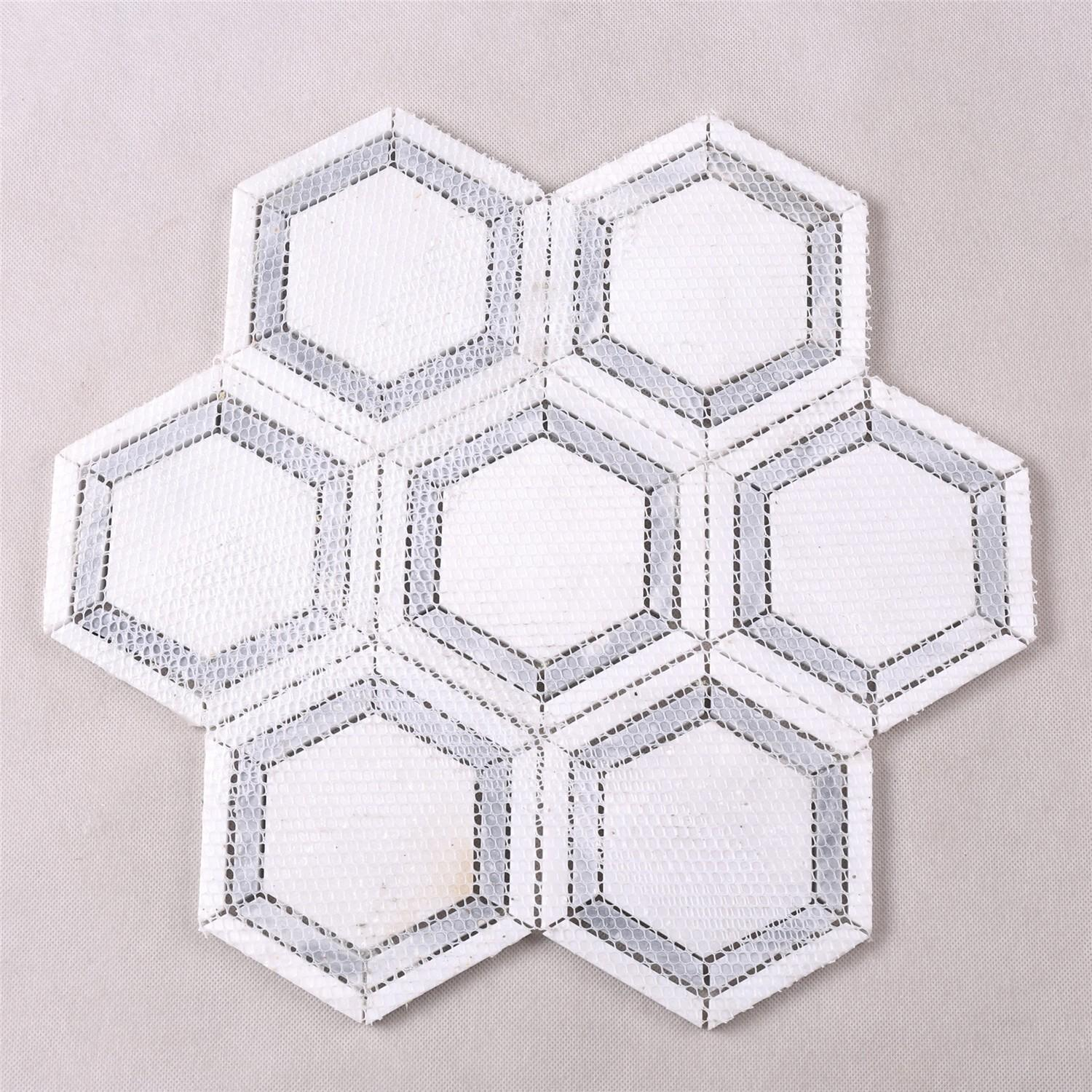 reliable crystal glass mosaic tiles suppliers white series for villa-5
