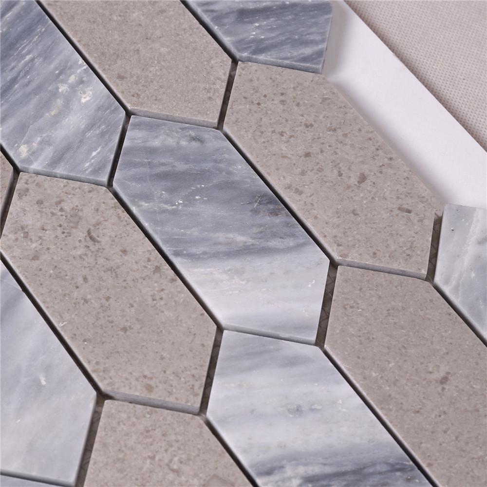 news-Heng Xing-Heng Xing Carrara carrara hexagon tile for business for living room-img