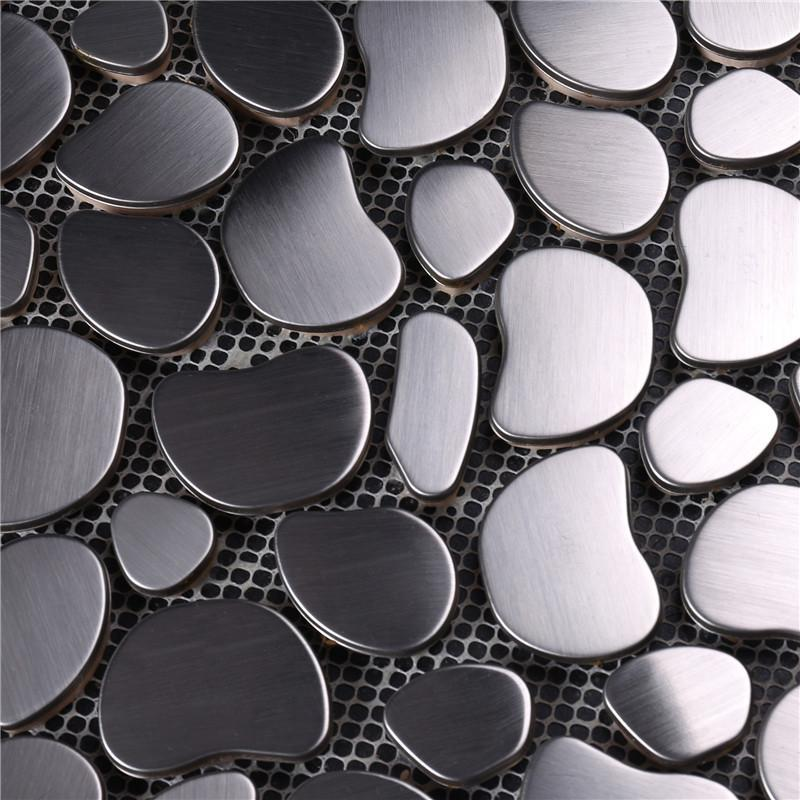 practical glass mosaic new designs metal company for bathroom