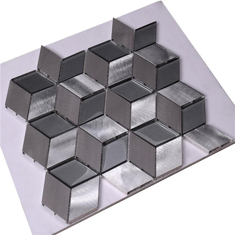 product-Diamond Shaped Mosaic Tiles-Heng Xing-img