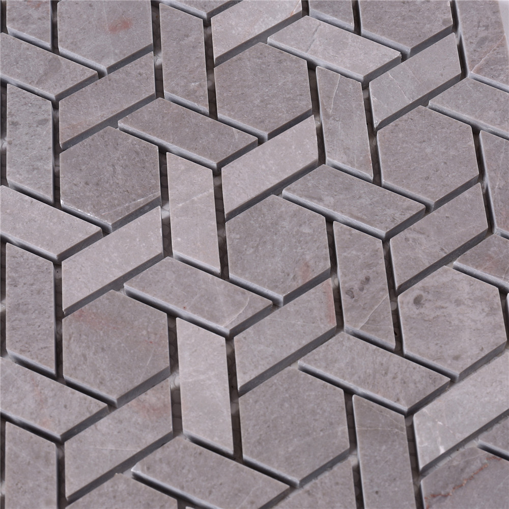 news-Heng Xing-2x2 glass stone mosaic tile gray manufacturers for bathroom-img