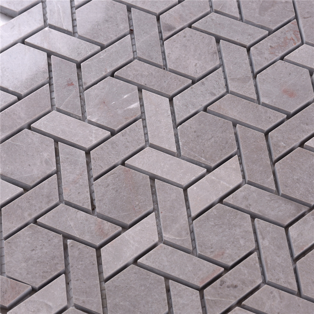 product-2x2 glass stone mosaic tile gray manufacturers for bathroom-Heng Xing-img