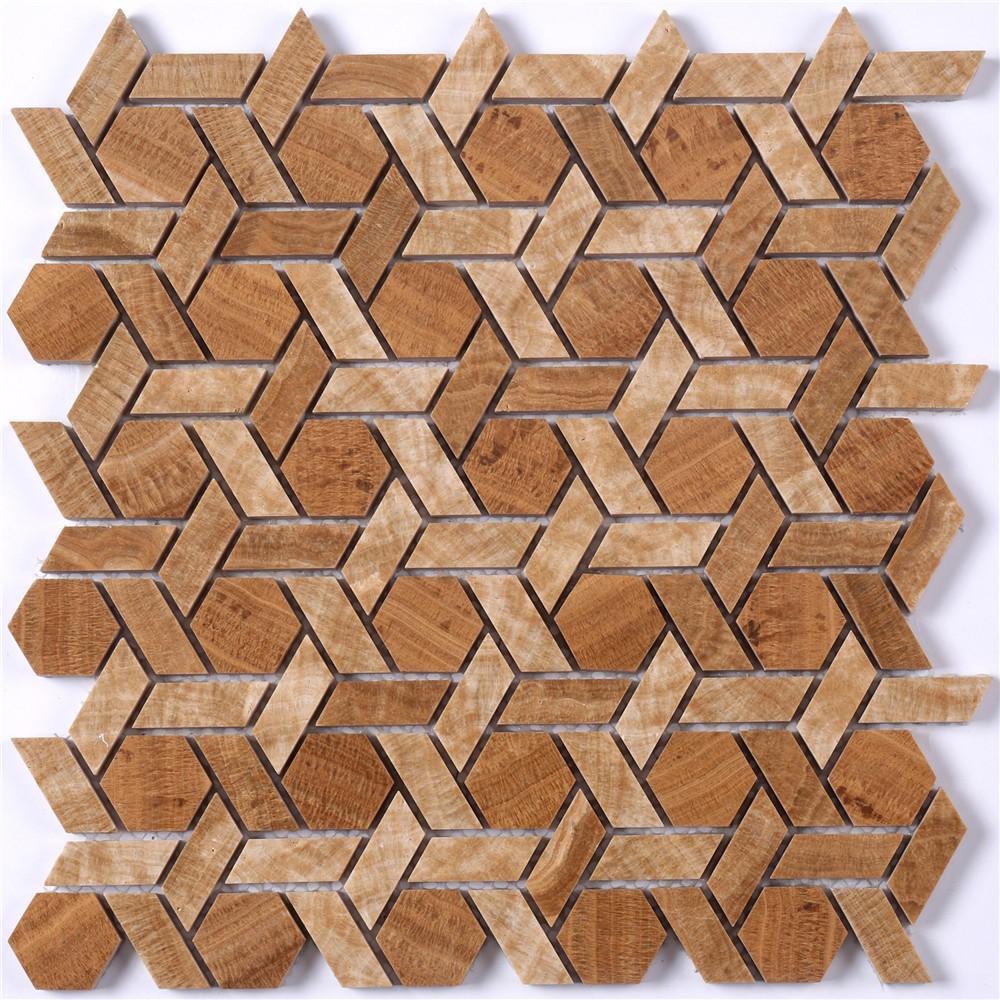 Wholesale mosaic tile sheets stone company for villa