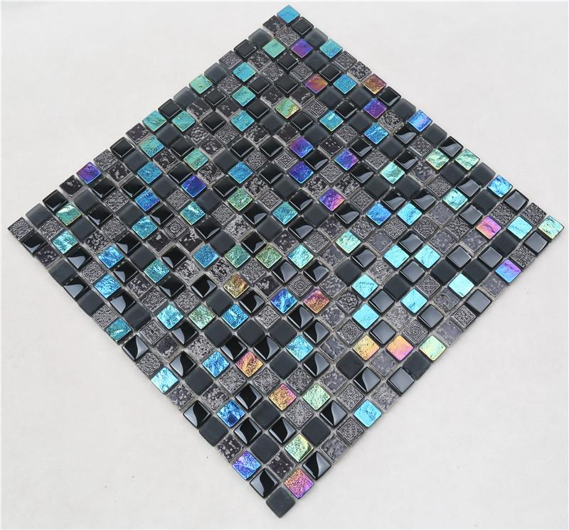 Heng Xing electroplated white beveled subway tile company for villa-2