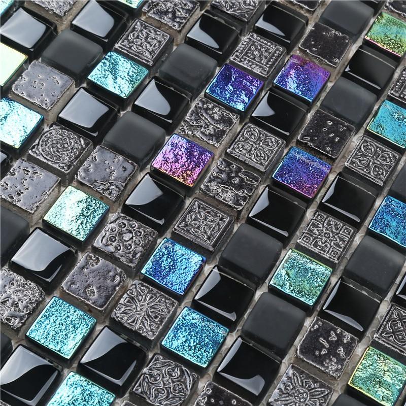 Heng Xing herringbone mosaic floor tiles Suppliers for villa-4