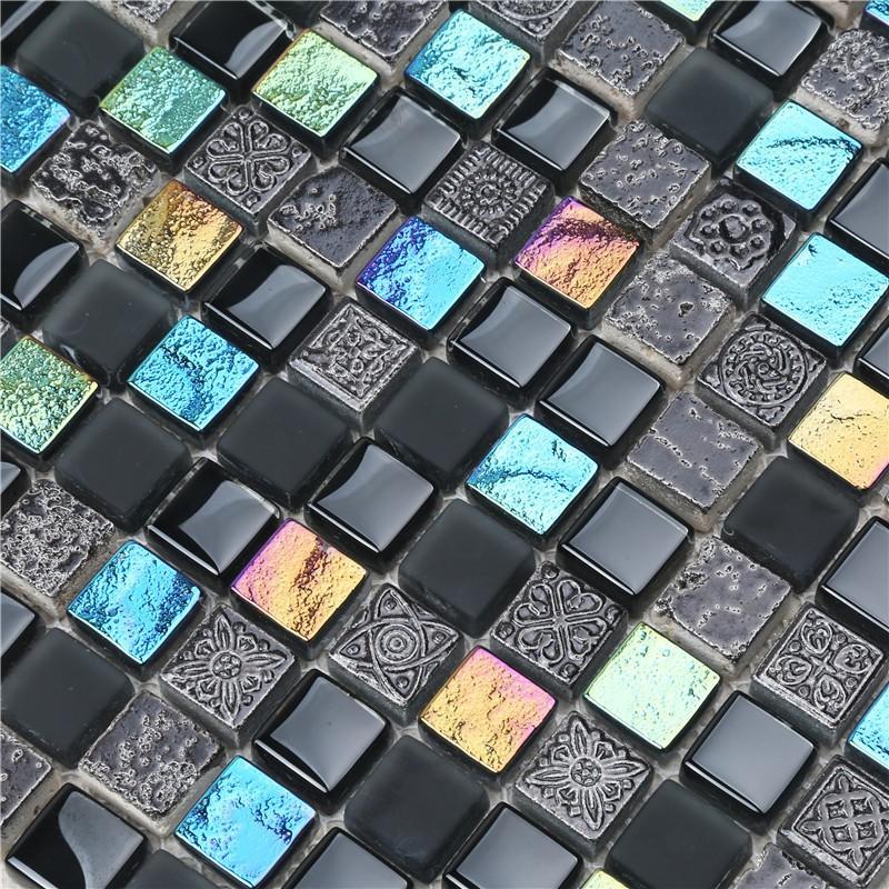 Heng Xing herringbone mosaic floor tiles Suppliers for villa-5