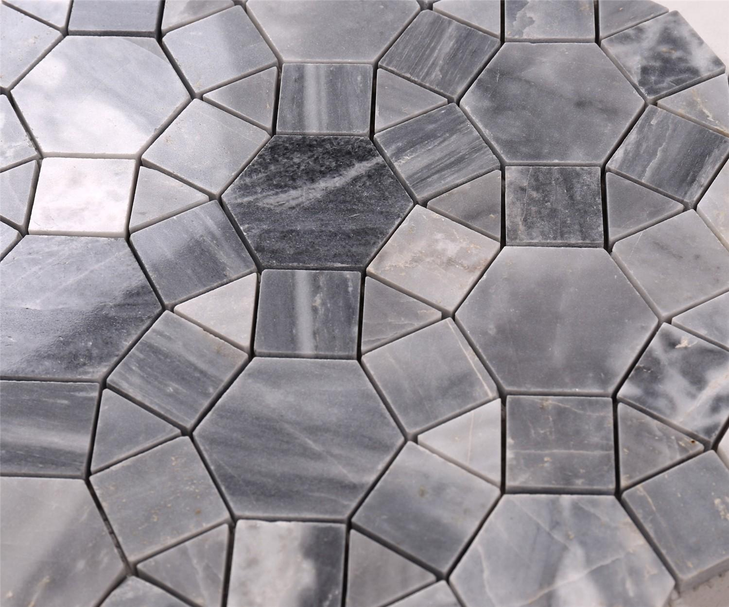 Heng Xing grey exterior stone tile with good price for bathroom-5