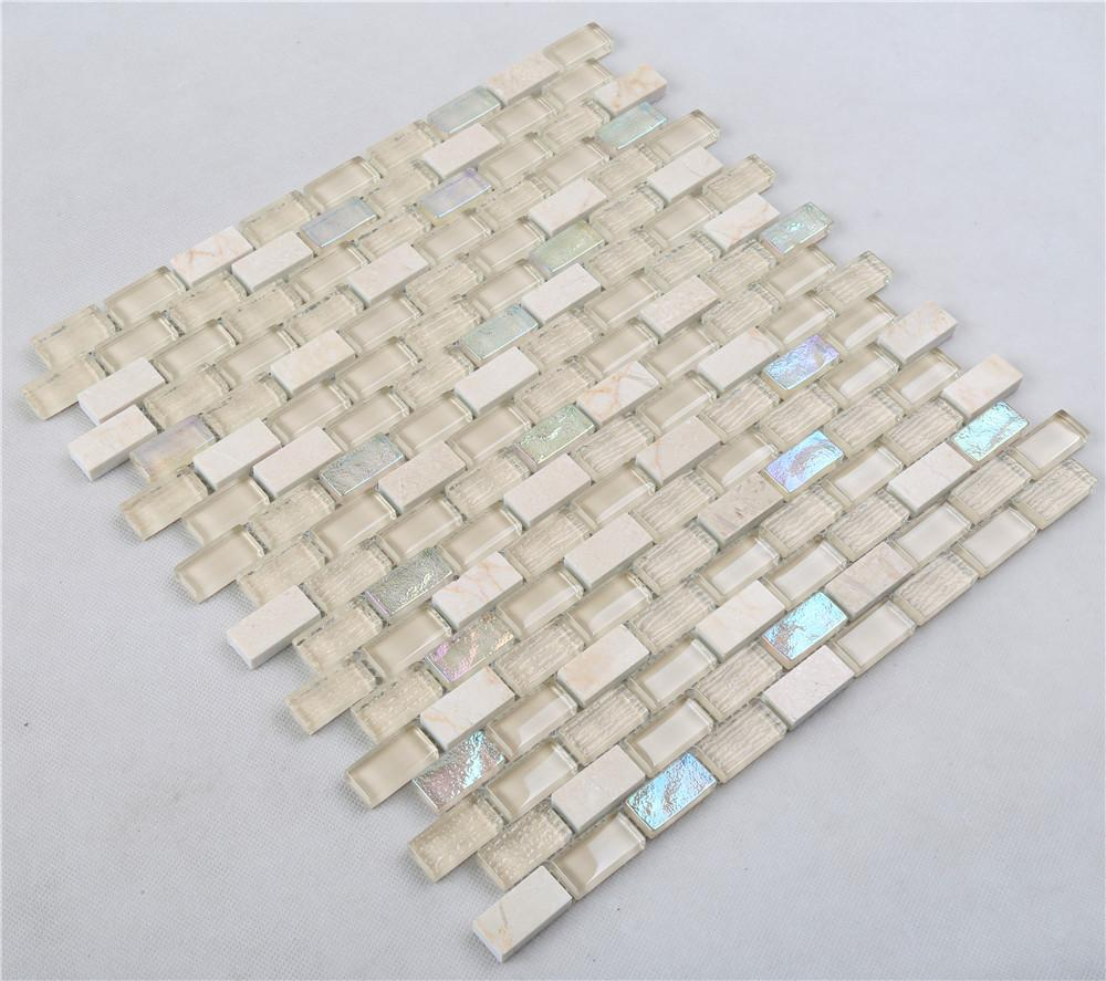 product-Heng Xing-Yello Iridescent Small Chips Glass Mosaic Mix Stone HSPA06-img