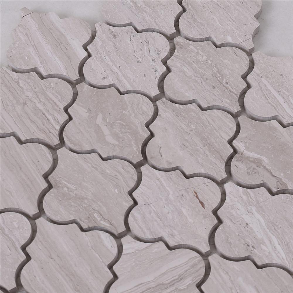 Heng Xing Carrara gray mosaic tile backsplash with good price for bathroom
