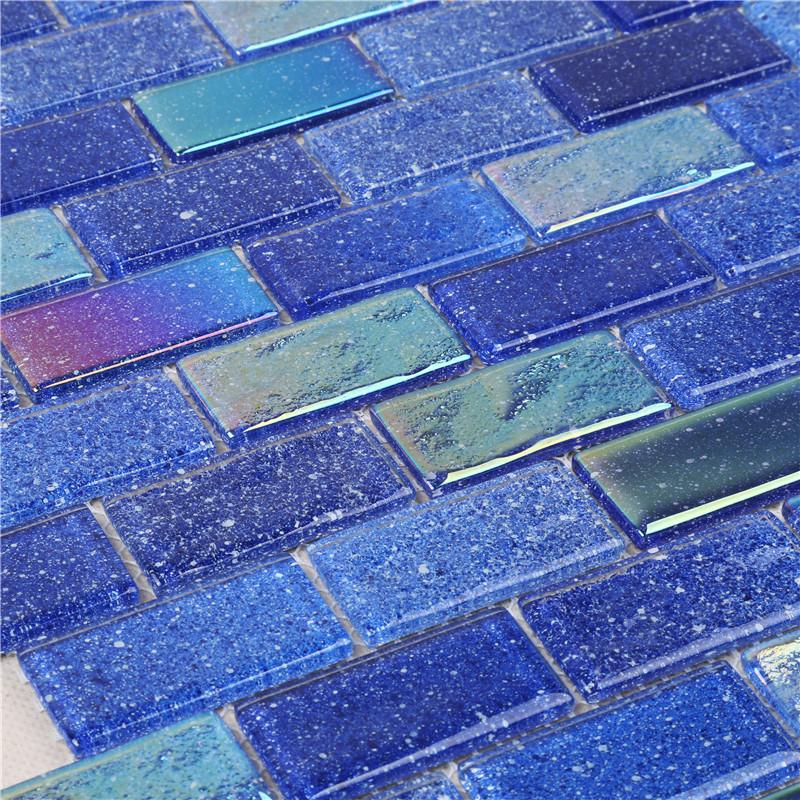 product-Heng Xing-Ideal Outdoor Ocean Blue Iridescent Swimming Pool Mosaic Tiles HXK02-B-img