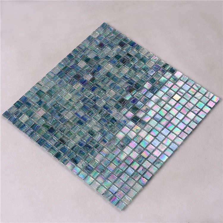 product-blue glass mosaic tiles-Heng Xing-img