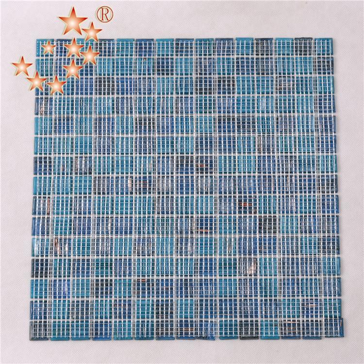 Heng Xing Top aqua blue tile factory price for swimming pool