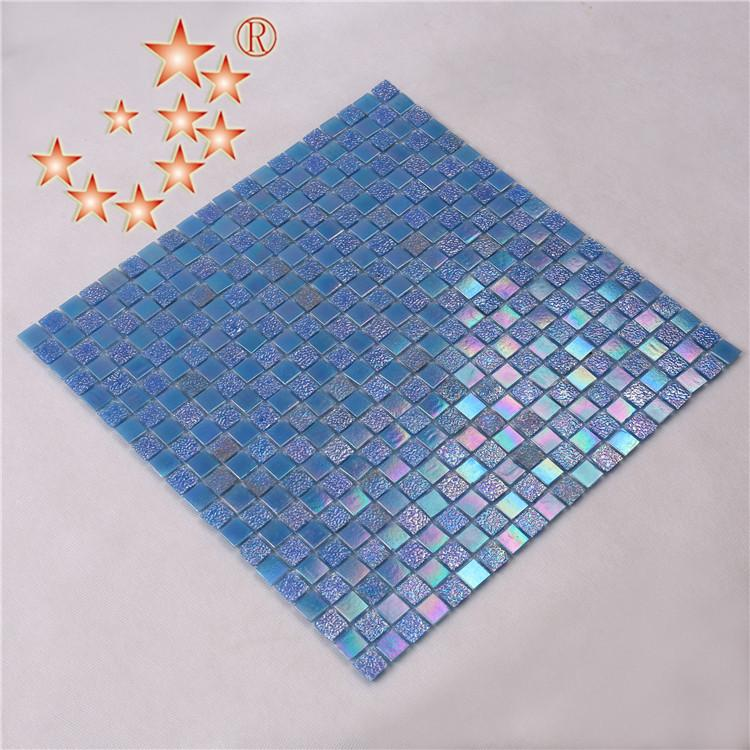 product-Whole Iridescent Glitter Crystal Glass Mosaic Wall Tiles NO-003Q-Heng Xing-img-2