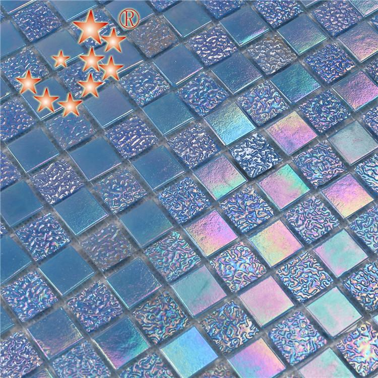 product-Heng Xing-Whole Iridescent Glitter Crystal Glass Mosaic Wall Tiles NO-003Q-img-5