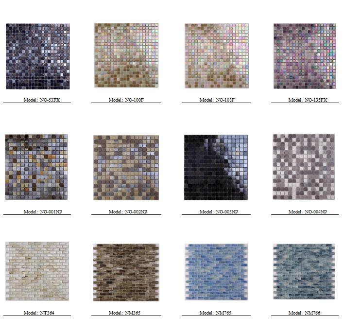 product-Whole Iridescent Glitter Crystal Glass Mosaic Wall Tiles NO-003Q-Heng Xing-img-20