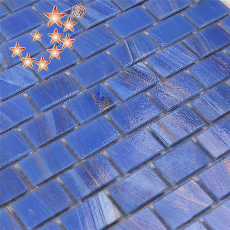 product-Ocean Blue Interlocking Glass Crystal Mosaic Bathroom Tiles NE742-Heng Xing-img