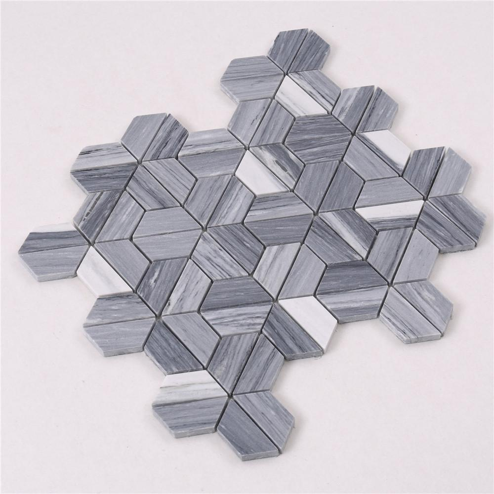 Heng Xing flower exterior stone tile for business for villa-2