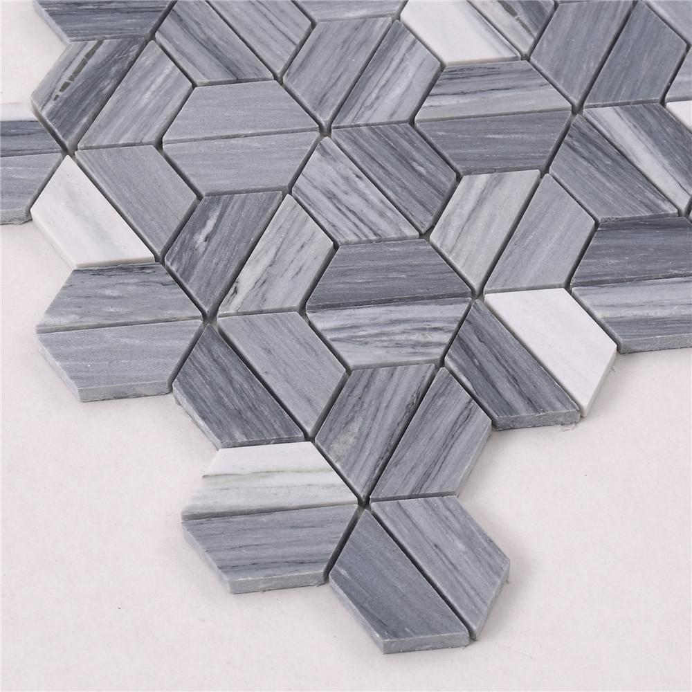Heng Xing flower pool mosaic tiles factory for hotel