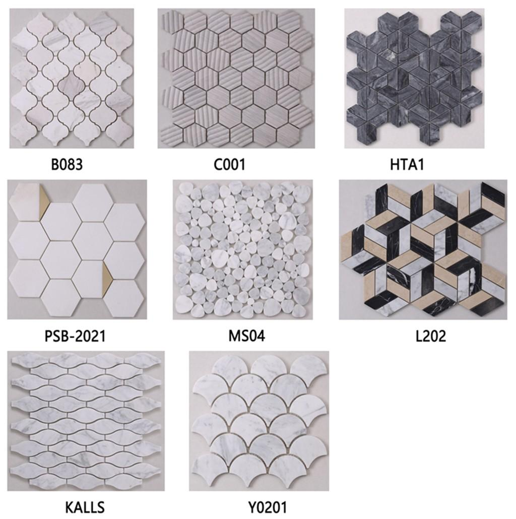 Heng Xing flower pool mosaic tiles factory for hotel-5