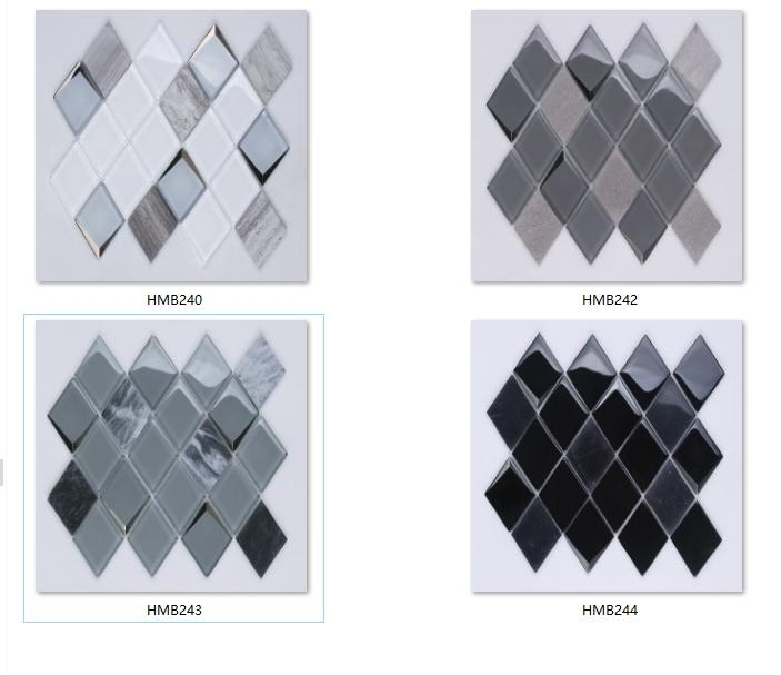 Heng Xing Custom pebble mosaic tile factory-5