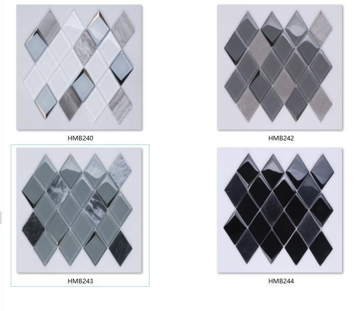 Top glass mosaic tile clearance hexagon company