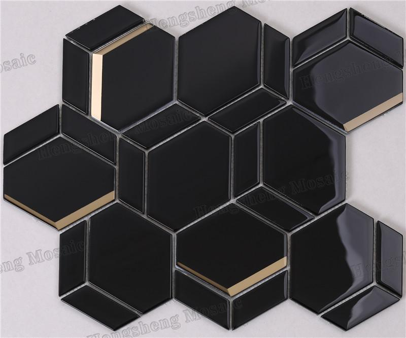 Heng Xing Top waterfall glass tile for business-1