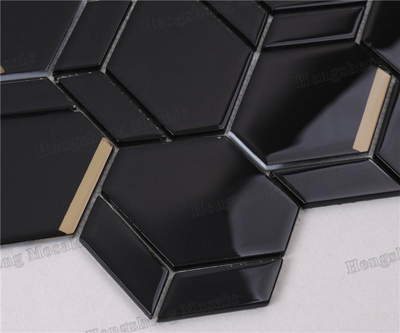 Heng Xing Top waterfall glass tile for business-3