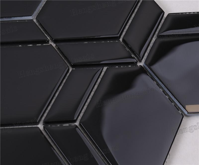 product-Heng Xing-Modern Irregular Beveled Mix Pattern Glass Mosaic Tiles HMB275-img