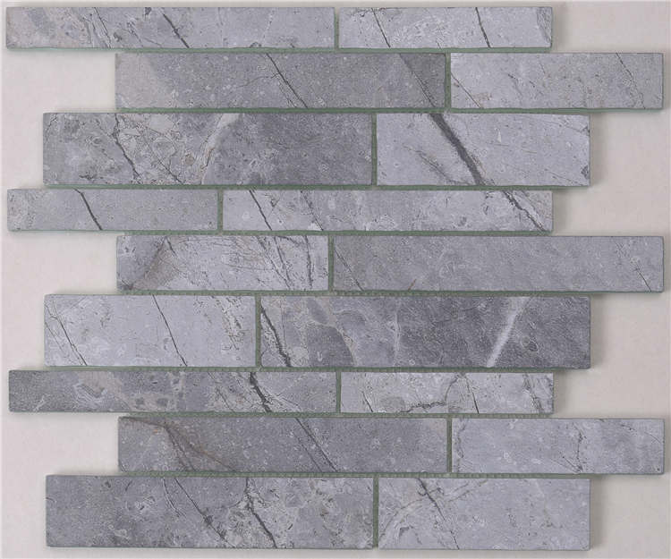New trend Inkjet printing crystal glass mosaic backsplash for bath HSGW04-G