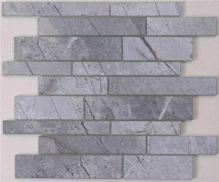 New trend Inkjet printing crystal glass mosaic backsplash for bath HSGW04-G