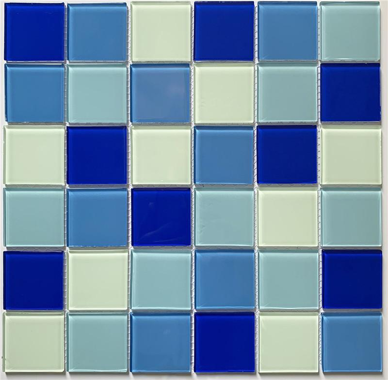 product-Heng Xing-Popular Blue Glass Pool Mosaic Swimming Pools Tiles HSL0286-img