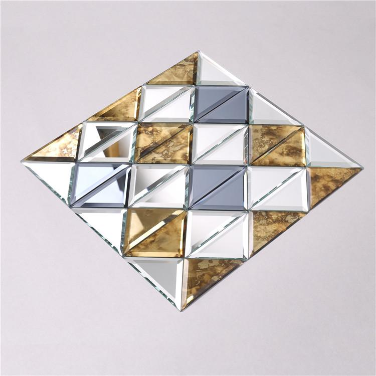 product-Shinning Square mirror crystal glass mosaic tiles HSPJ34-Heng Xing-img