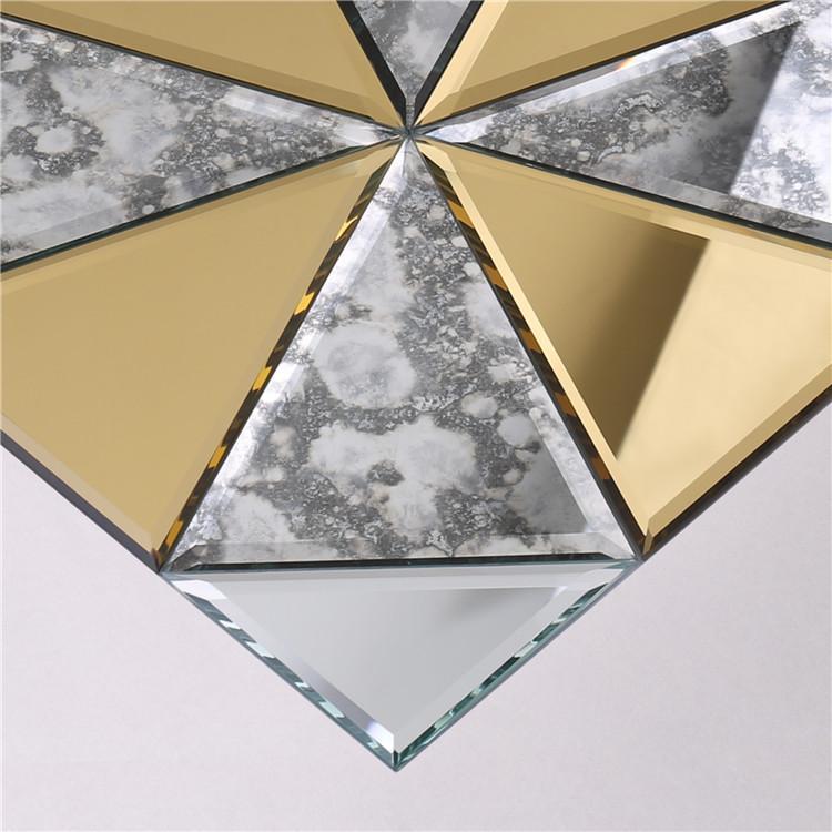 Heng Xing golden hexagon white tile wholesale for living room-3