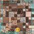 Heng Xing herringbone cream beveled subway tile factory for living room