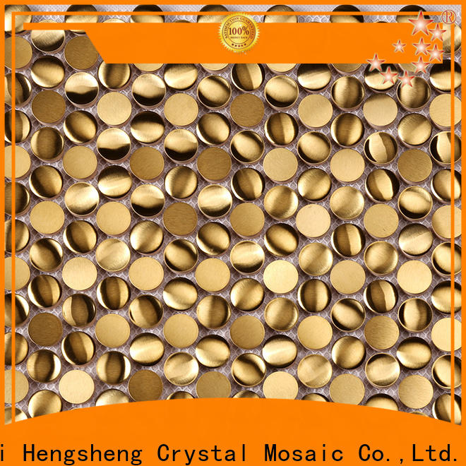 Heng Xing Wholesale travertine mosaic tiles factory for villa