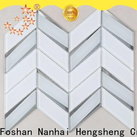 Heng Xing Best 3d wave tile Supply for living room