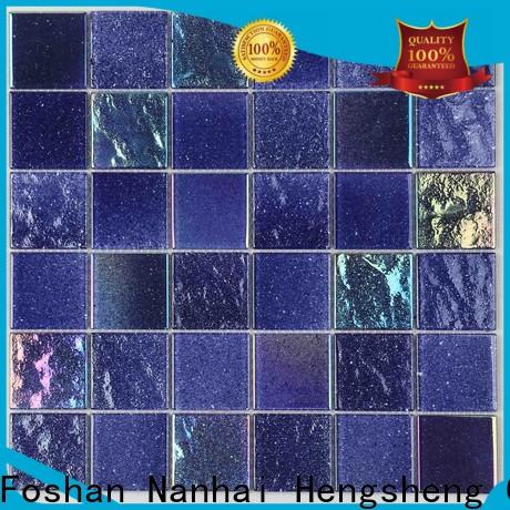 Heng Xing waterline inground pool tiles for business for swimming pool