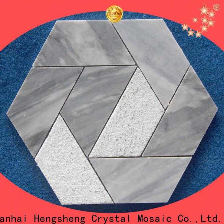 Latest marble glass mosaic tile stone factory for kitchen