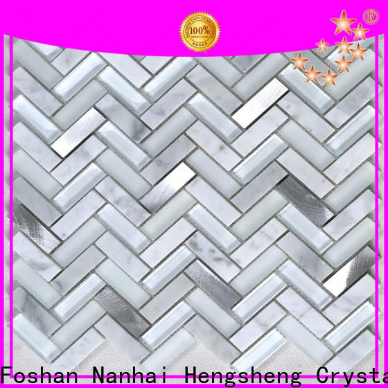 Heng Xing Custom penny round ceramic tiles Supply for bathroom